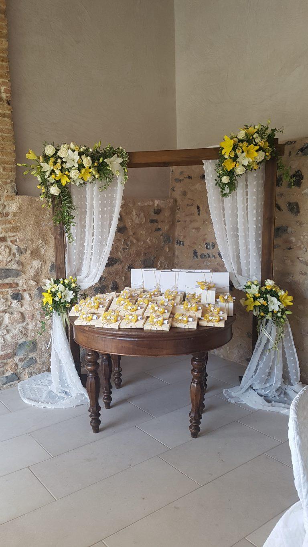 bomboniere matrimonio fiori verona