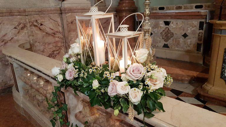 allestimento floreale chiesa matrimonio